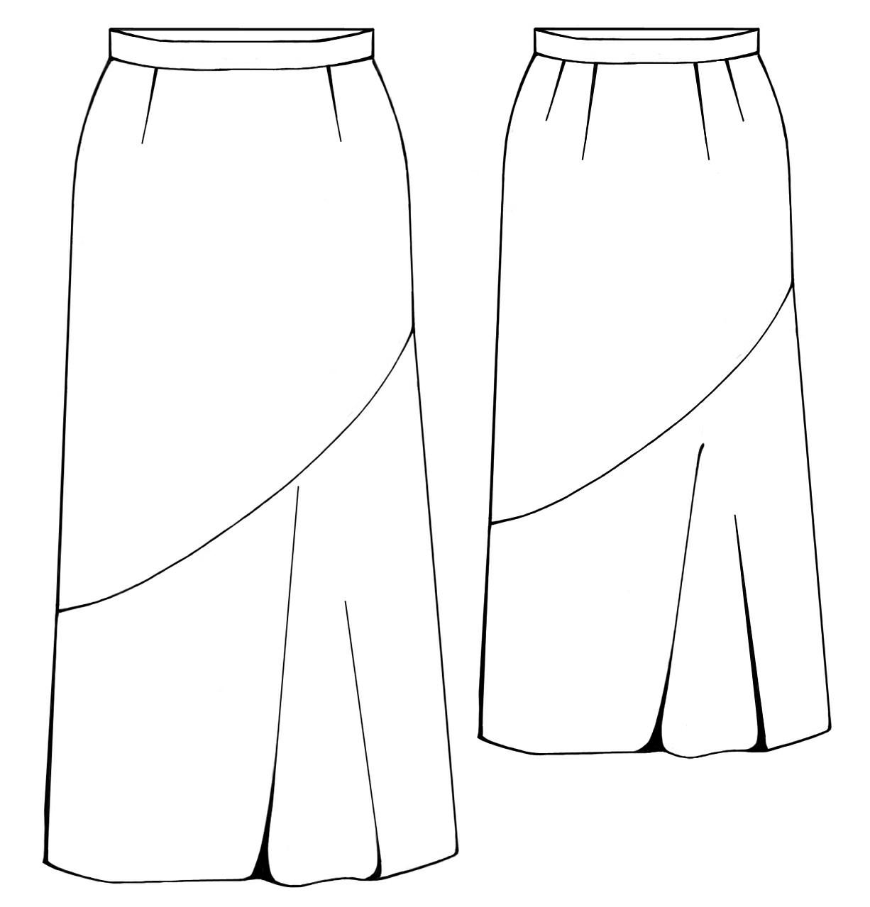 депо, модные юбки и выкройки в картинках течение