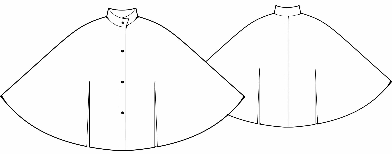 Пончо из ткани в картинках